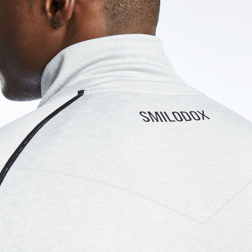 Smilodox Men's Seamless Zip Longsleeve Real – Bild 3