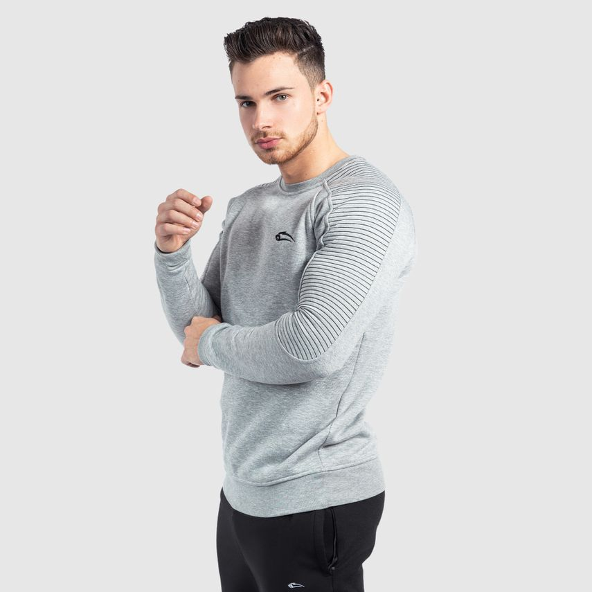 SMILODOX Sweatshirt Men Sports Fitness  Gym Leisure Sweaters Training Sweaters – Bild 4