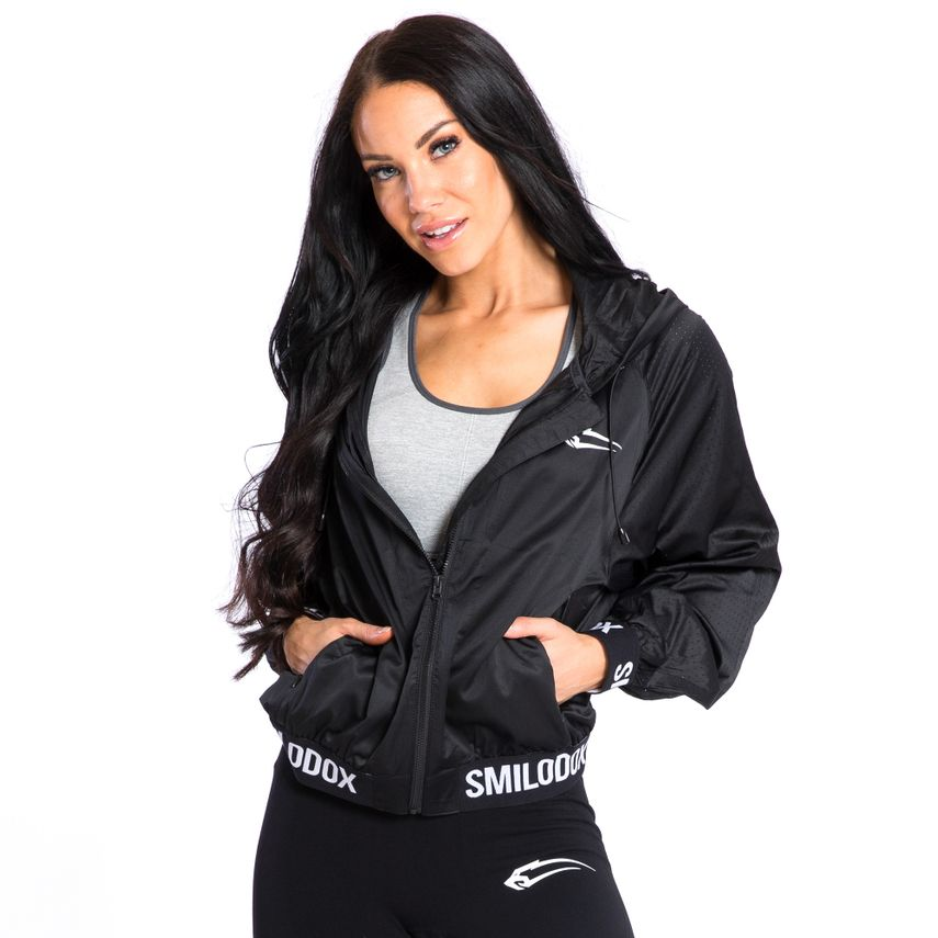 SMILODOX Jacket Ladies Sports Fitness Gym Leisure Tracksuit Fitness Jacket – Bild 2