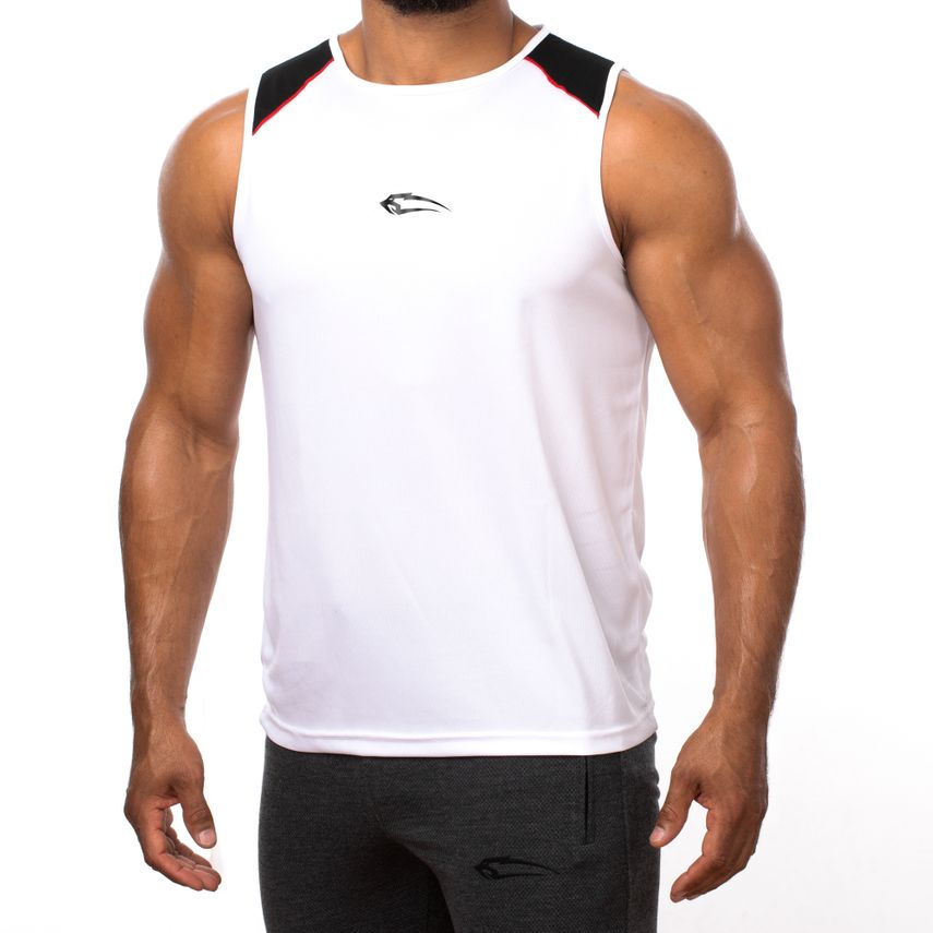 SMILODOX Tank Top Men Sports Fitness  Gym Leisure Training Shirt Sporttop – Bild 1