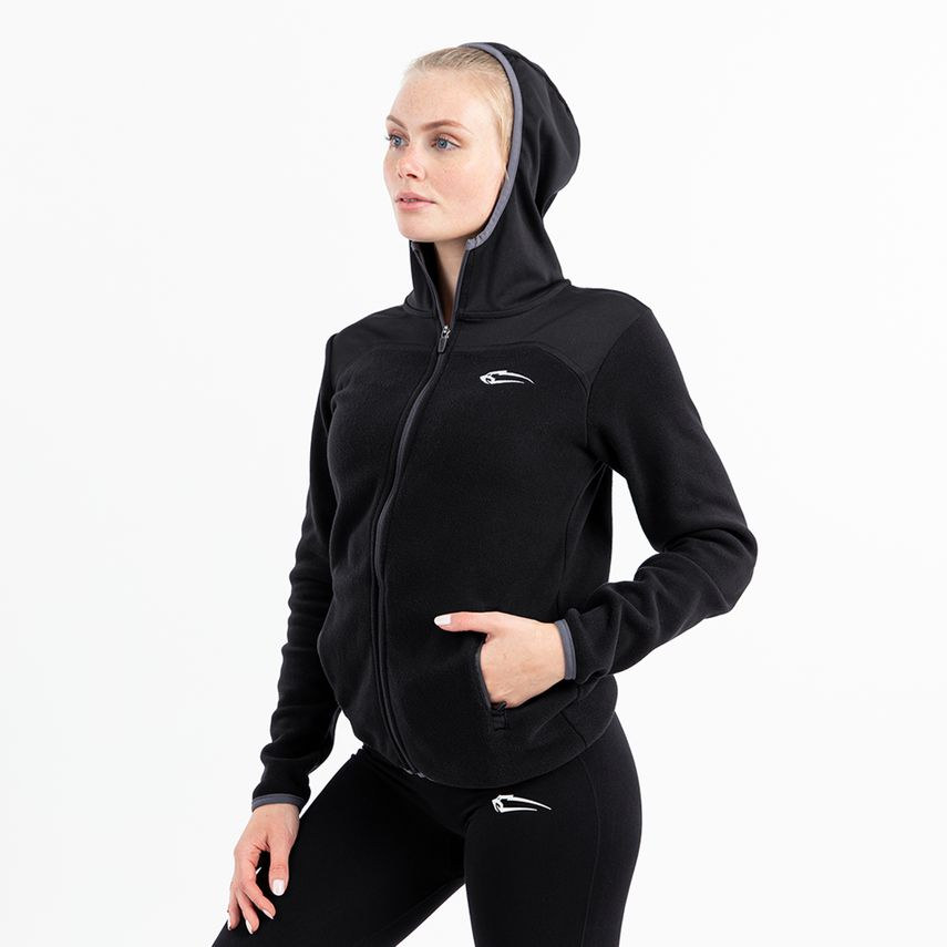 SMILODOX Ladies Zip Jacket Fleece – Bild 2