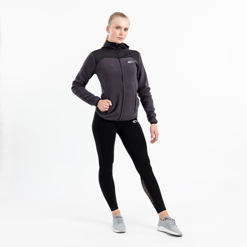 SMILODOX Damen Fleece Zip Jacke – Bild 12
