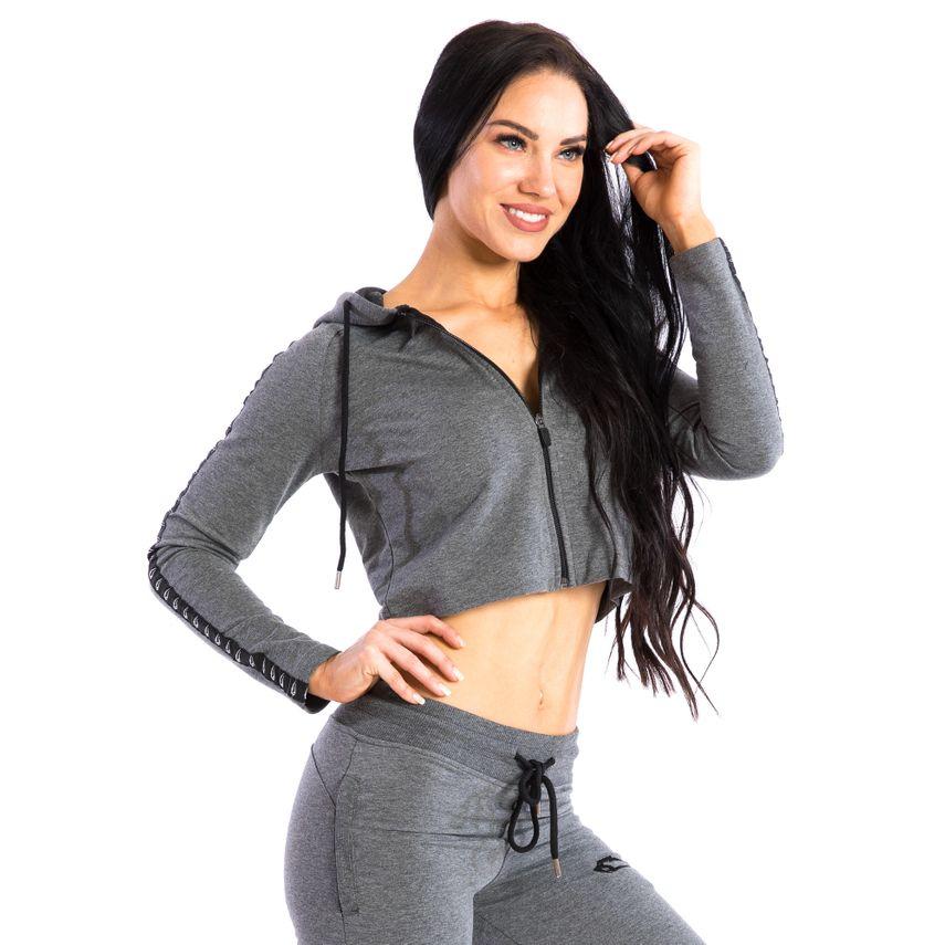 SMILODOX Jacket Ladies Sports Fitness Gym Leisure Tracksuit Fitness Jacket – Bild 11