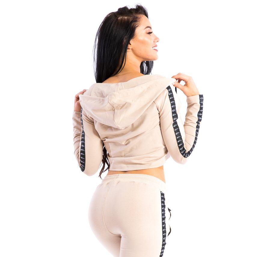 SMILODOX Jacket Ladies Sports Fitness Gym Leisure Tracksuit Fitness Jacket – Bild 8