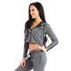 SMILODOX Jacket Ladies Sports Fitness Gym Leisure Tracksuit Fitness Jacket – Bild 12