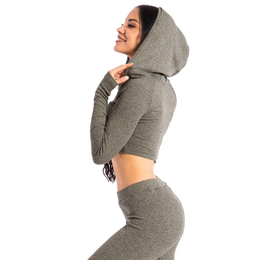 SMILODOX  Hoodie Women Sports Fitness  Gym Leisure Sports Sweater Hooded Sweater – Bild 15