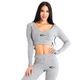SMILODOX  Hoodie Women Sports Fitness  Gym Leisure Sports Sweater Hooded Sweater – Bild 1