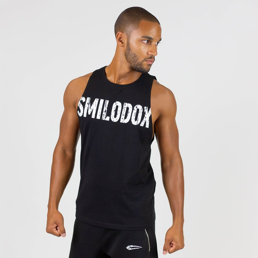 SMILODOX Tank Top Herren Sport Fitness Gym Freizeit Trainingsshirt Sporttop – Bild 10