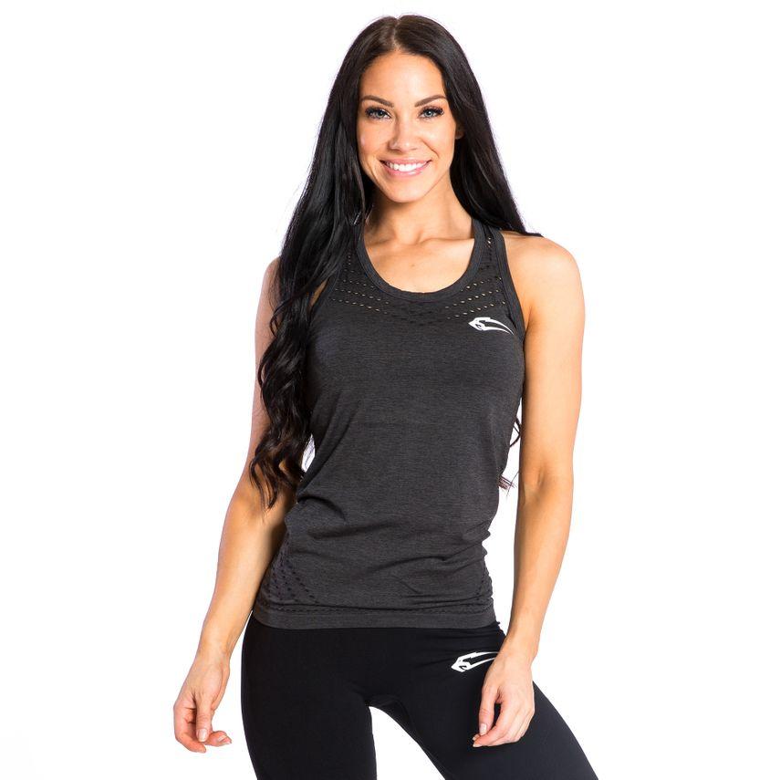 SMILODOX Top Ladies Sports Fitness Gym Leisure Top Sportshirt Trainingstop – Bild 5