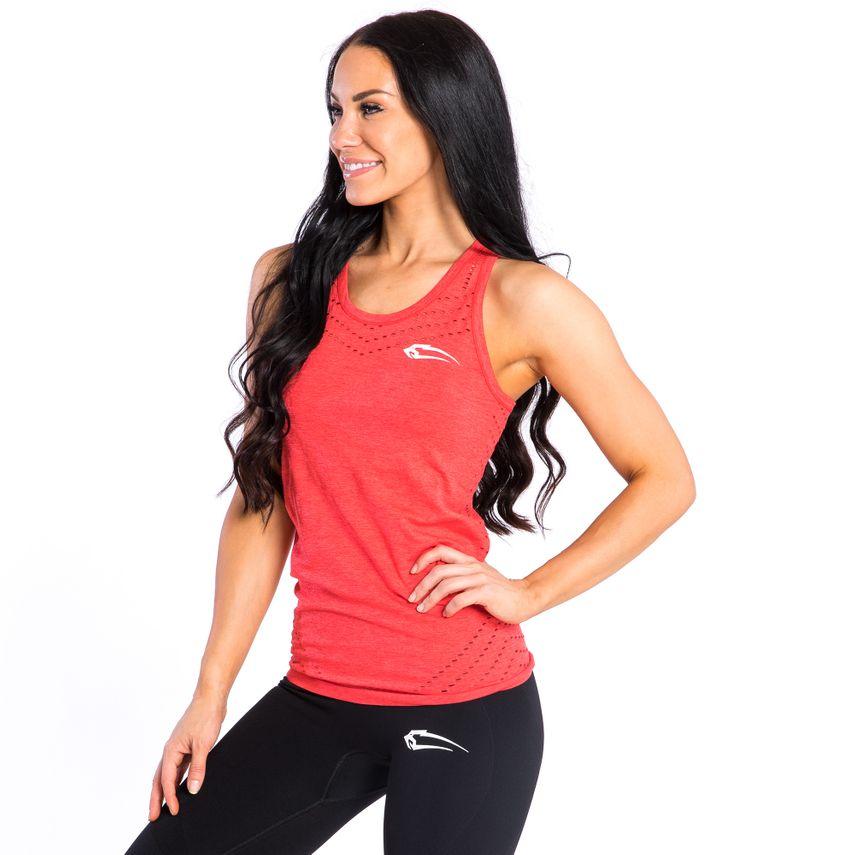 SMILODOX Top Ladies Sports Fitness Gym Leisure Top Sportshirt Trainingstop – Bild 3