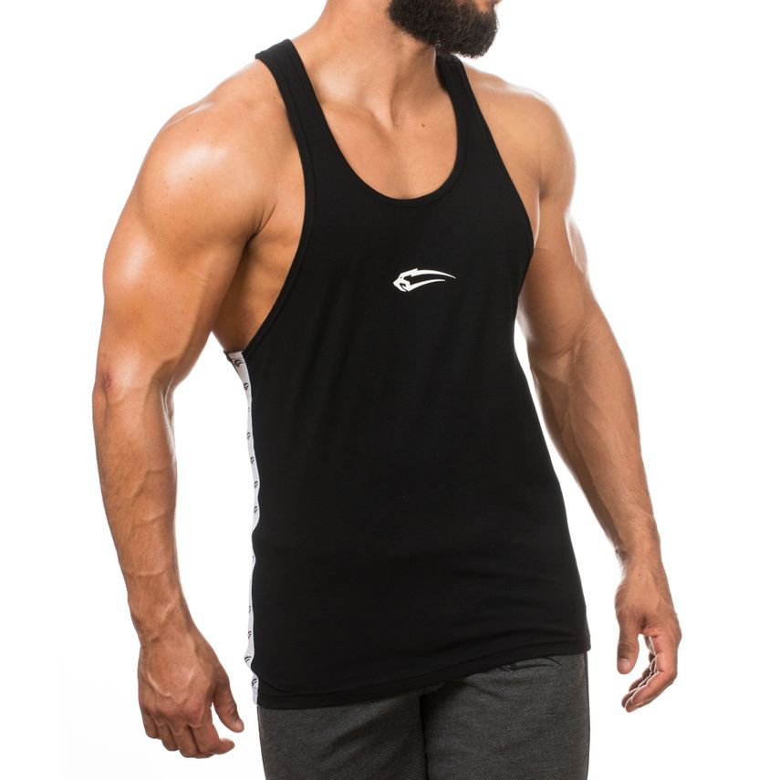 SMILODOX Stringer Men Sports Fitness  Gym Leisure Training Shirt Tank Top – Bild 7