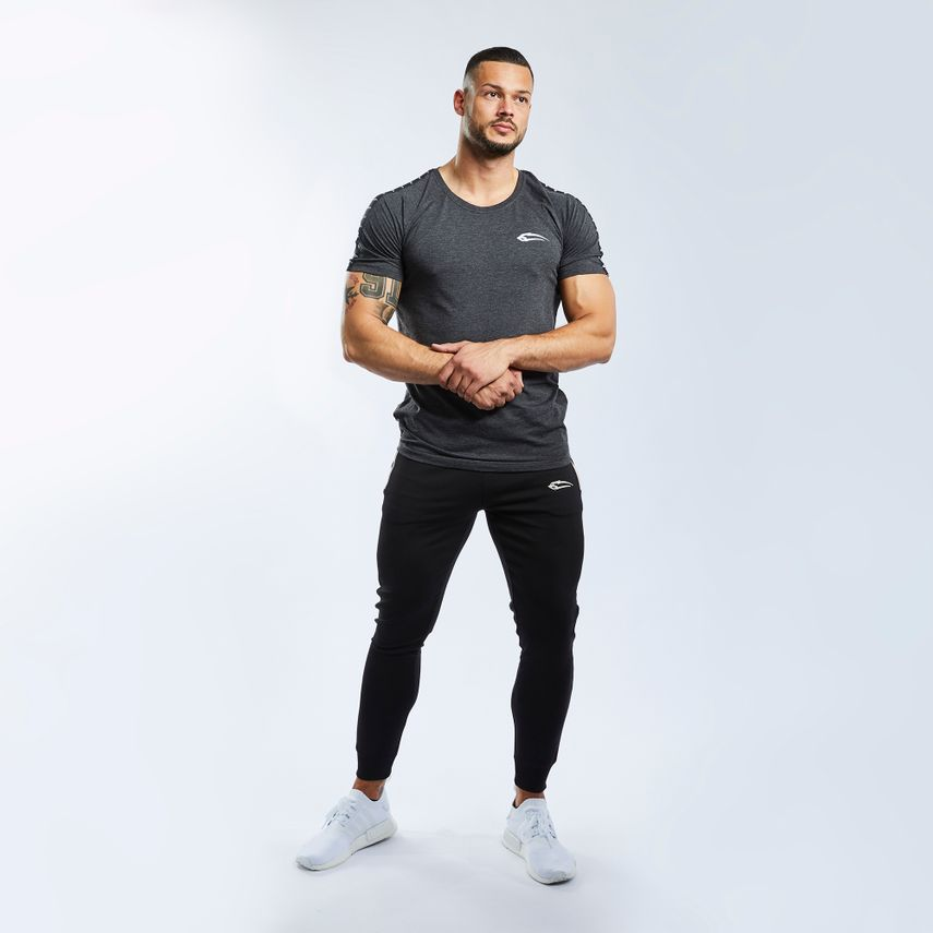 SMILODOX T-Shirt Men Sports Fitness  Gym Leisure Training Shirt Sportshirt – Bild 18