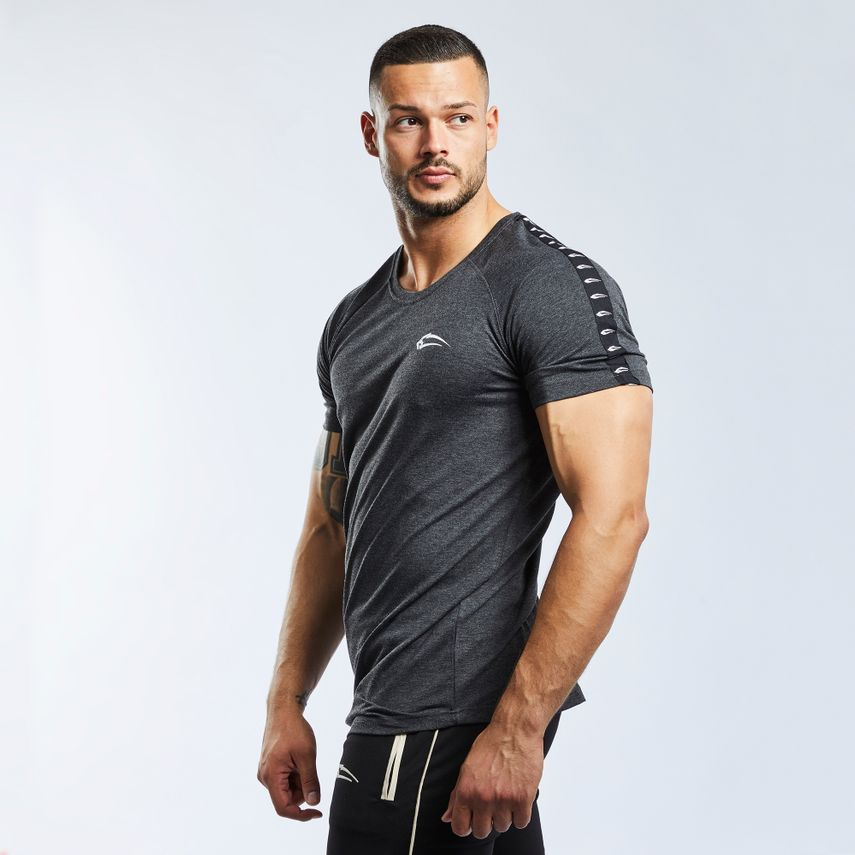 SMILODOX T-Shirt Men Sports Fitness  Gym Leisure Training Shirt Sportshirt – Bild 14