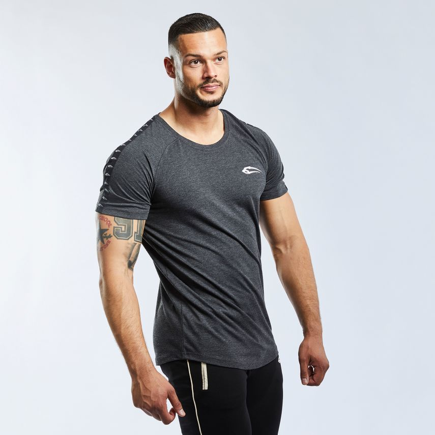 SMILODOX T-Shirt Men Sports Fitness  Gym Leisure Training Shirt Sportshirt – Bild 13