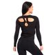 SMILODOX Damen Longsleeve Cut Out – Bild 9