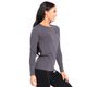 SMILODOX Damen Longsleeve Cut Out – Bild 2