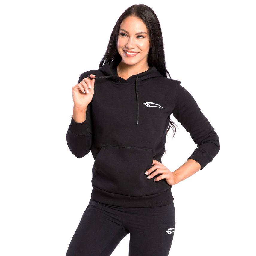 SMILODOX Hoodie Damen Sport Fitness Gym Freizeit Sportpullover Kapuzenpullover – Bild 7