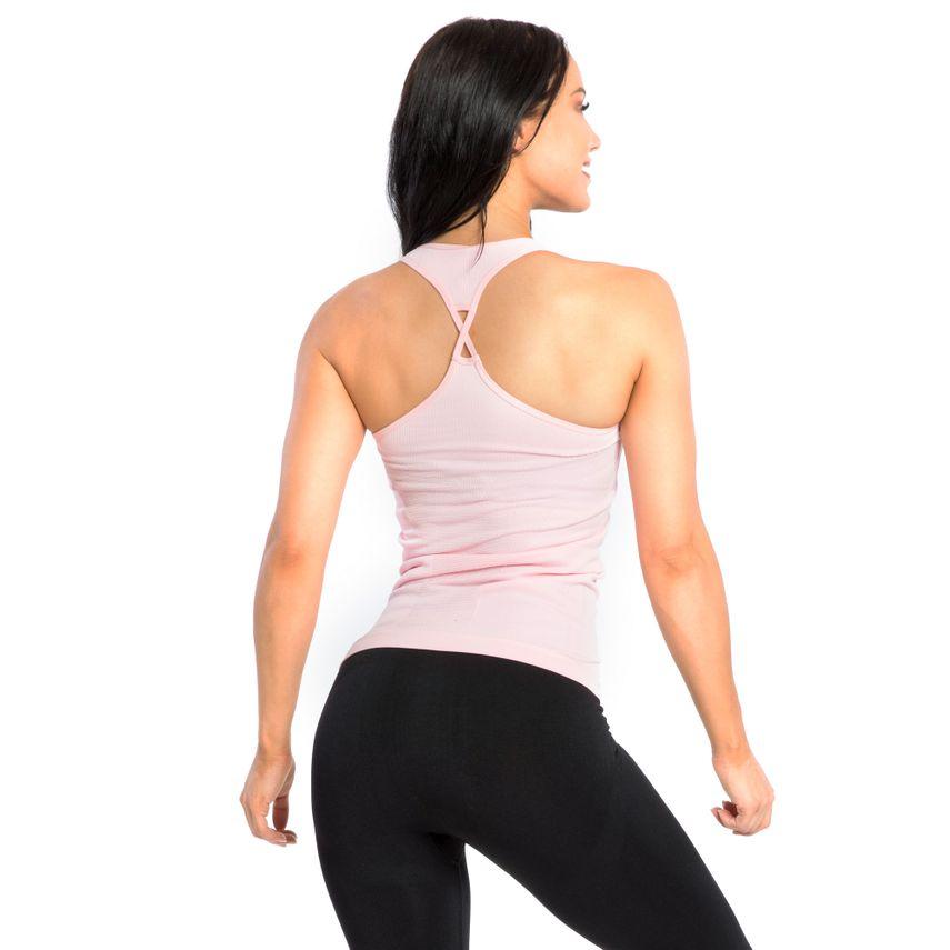 SMILODOX Top Ladies Sports Fitness Gym Leisure Top Sportshirt Trainingstop – Bild 6