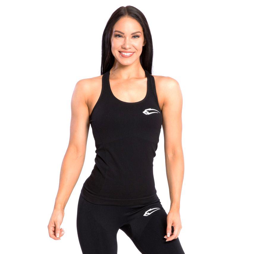 SMILODOX Top Damen Sport Fitness Gym Freizeit Top Sportshirt Trainingstop – Bild 8