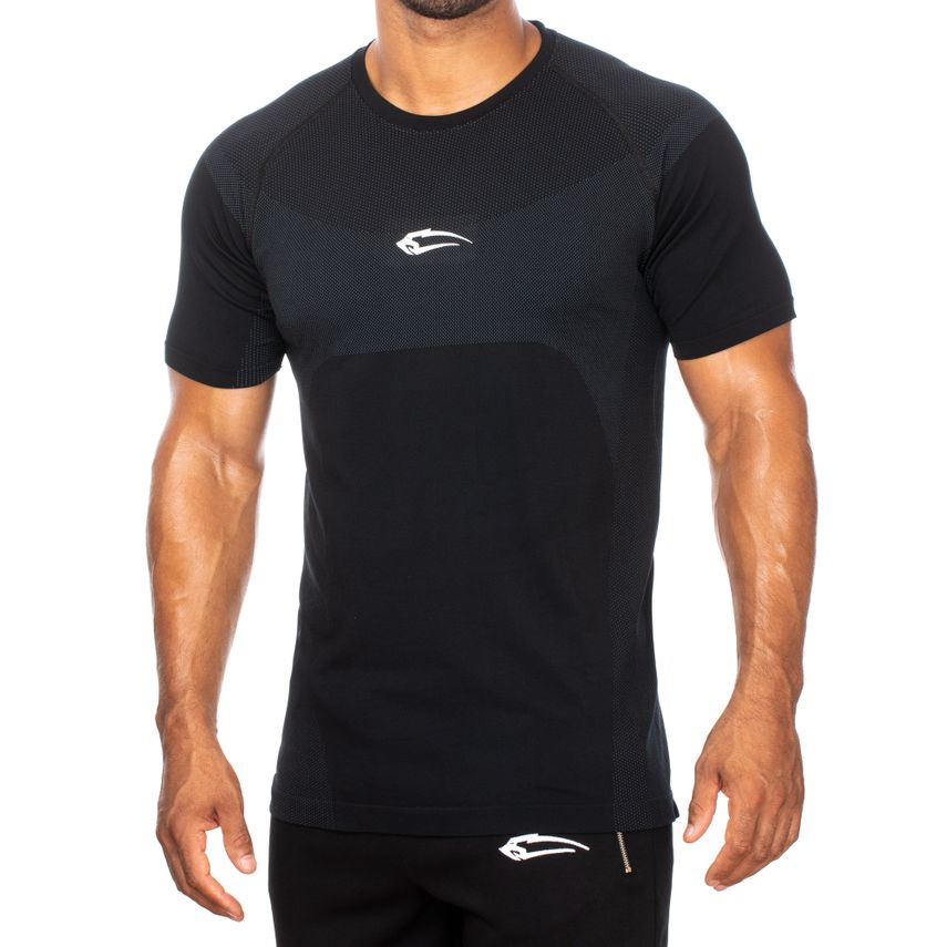SMILODOX T-Shirt Men Sports Fitness  Gym Leisure Training Shirt Sportshirt – Bild 6