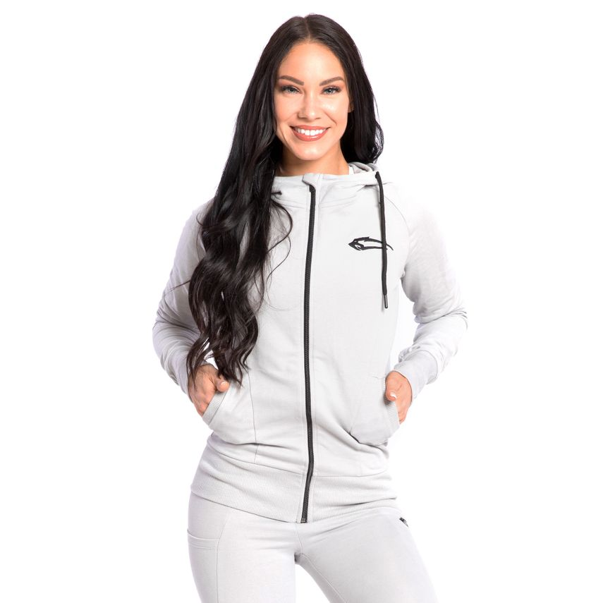 SMILODOX  Zip Hoodie Women Sports Fitness  Gym Leisure Training Hooded Sweater – Bild 12