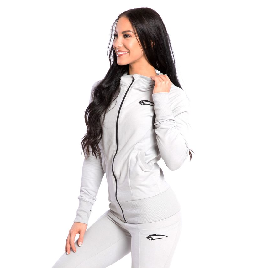 SMILODOX  Zip Hoodie Women Sports Fitness  Gym Leisure Training Hooded Sweater – Bild 13