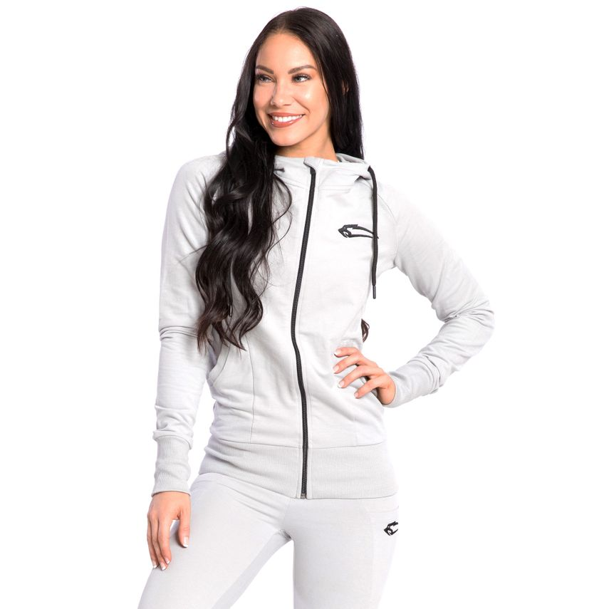 SMILODOX  Zip Hoodie Women Sports Fitness  Gym Leisure Training Hooded Sweater – Bild 15