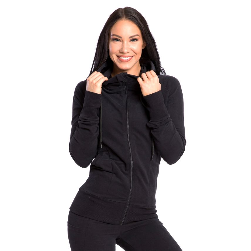SMILODOX Zip Hoodie Damen Sport Fitness Gym Freizeit Training Kapuzenpullover – Bild 18