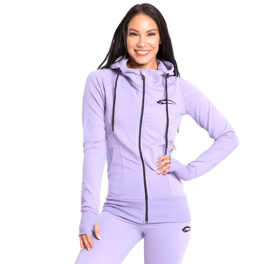 SMILODOX  Zip Hoodie Women Sports Fitness  Gym Leisure Training Hooded Sweater – Bild 22