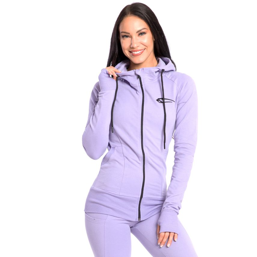 SMILODOX Zip Hoodie Damen Sport Fitness Gym Freizeit Training Kapuzenpullover – Bild 24