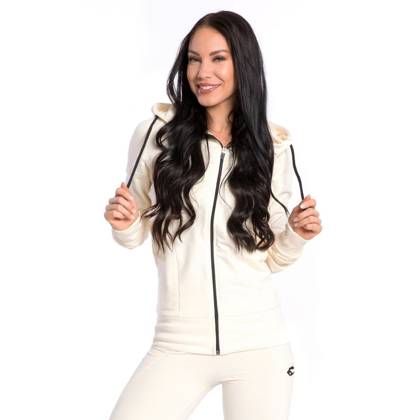SMILODOX  Zip Hoodie Women Sports Fitness  Gym Leisure Training Hooded Sweater – Bild 7
