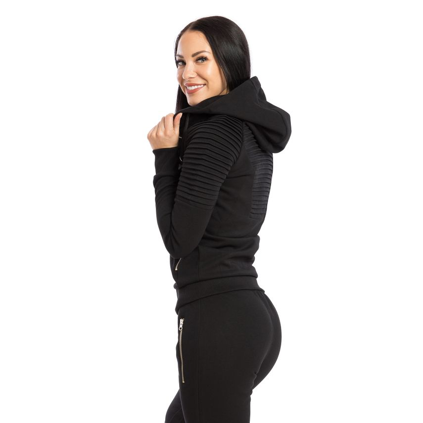 SMILODOX  Zip Hoodie Women Sports Fitness  Gym Leisure Training Hooded Sweater – Bild 14