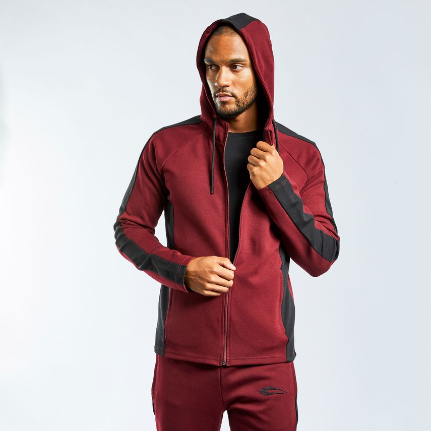 SMILODOX  Zip Hoodie Men Sports Fitness  Gym Leisure Sweaters Hooded Sweaters – Bild 12