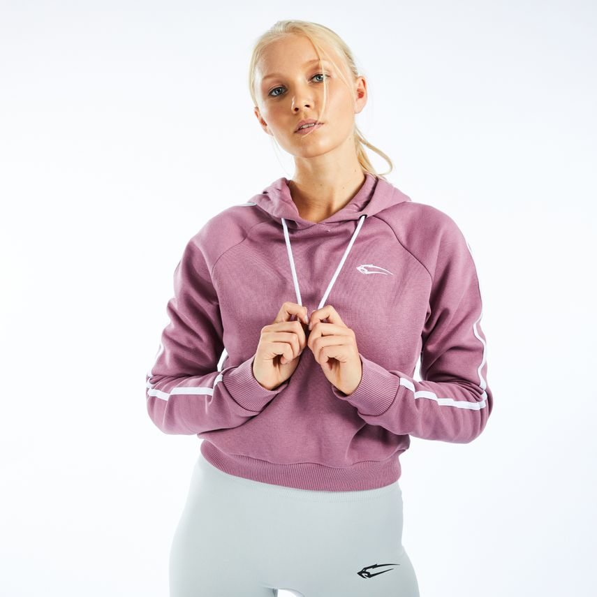 Smilodox Ladies Crop Hooded Sweater Luma – Bild 6