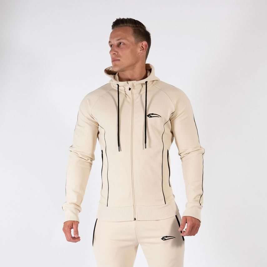 Smilodox Gentlemen Zip Hoodie Nightfall – Bild 7