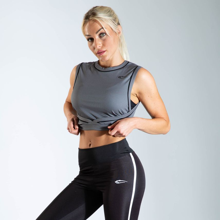 Smilodox Ladies Top Wrap – Bild 6