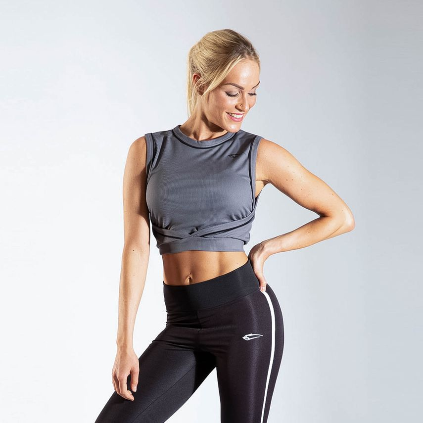 Smilodox Ladies Top Wrap – Bild 5