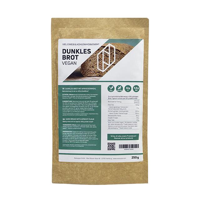 Dunkles Eiweißbrot / Proteinbrot – Bild 1