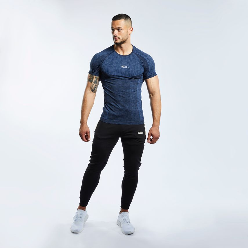 SMILODOX T-Shirt Men Sports Fitness  Gym Leisure Training Shirt Sportshirt – Bild 12