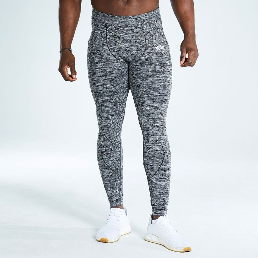 Smilodox Herren Leggings Tight – Bild 1