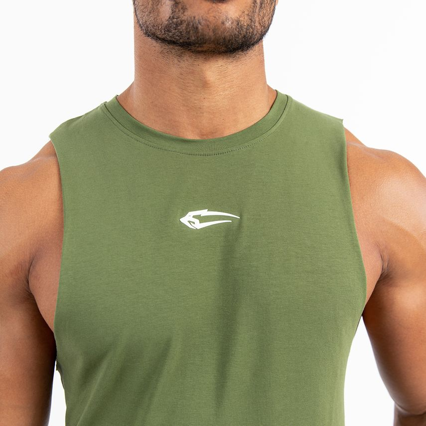 Smilodox Men's Tank Top Cut – Bild 10