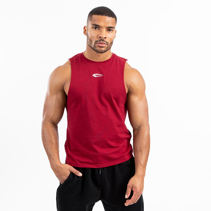 Smilodox Men's Tank Top Cut – Bild 13