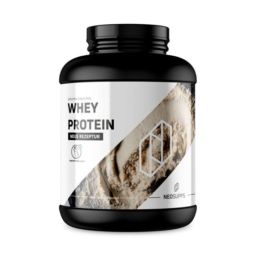 2 Kg Whey Protein Neutral – Bild 1