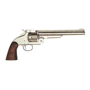 Nickelfarbener Smith & Wesson Modell 3 American Army Revolver 1870