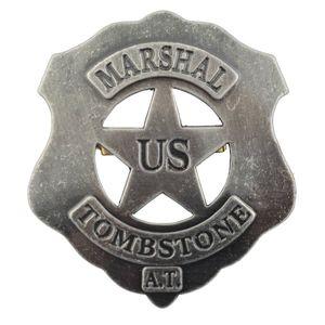 US-Marshall Badge Tombstone 1879 Clay Calhoun/Wyatt Earp