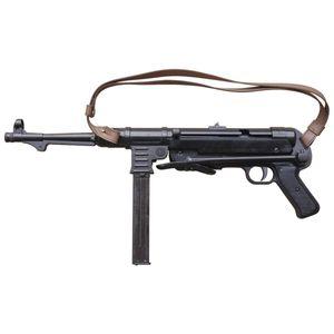 Deutsche Deko Maschinenpistole Schmeisser MP 40 mit Trageriemen