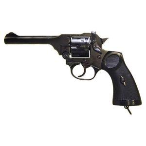 Englische Deko Pistole Webley MK 4 Revolver Kal. 38/200 WWII 1932
