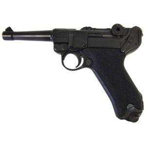 Luger Deko Pistole P08 Kaliber 9mm Parabellum 1908 Kunststoffgriffschale – Bild 1