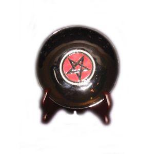 Nemesis Now Keramik Pentagram Schale auf Ständer