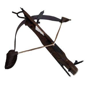 Deko Waffe Armbrust Mittelalter bedingt funktionsfähig mit Pfeil groß – Bild 4